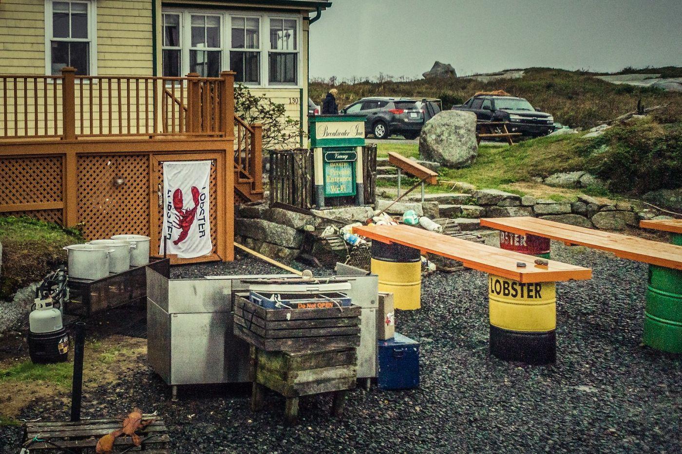 加拿大佩吉海湾(Peggys Cove),小鱼港见闻_图1-16