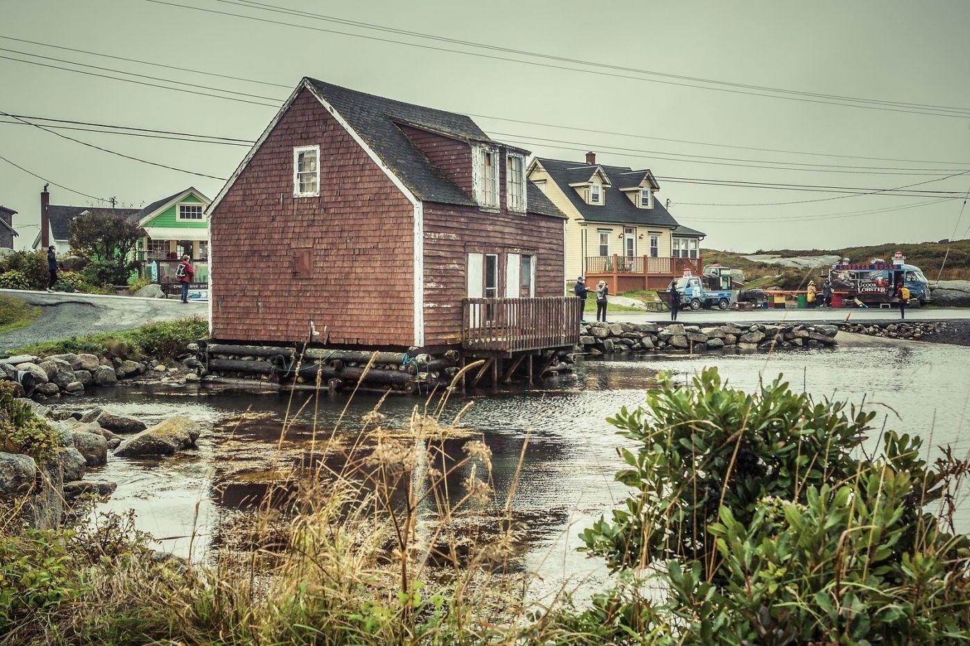 加拿大佩吉海湾(Peggys Cove),小鱼港见闻_图1-20