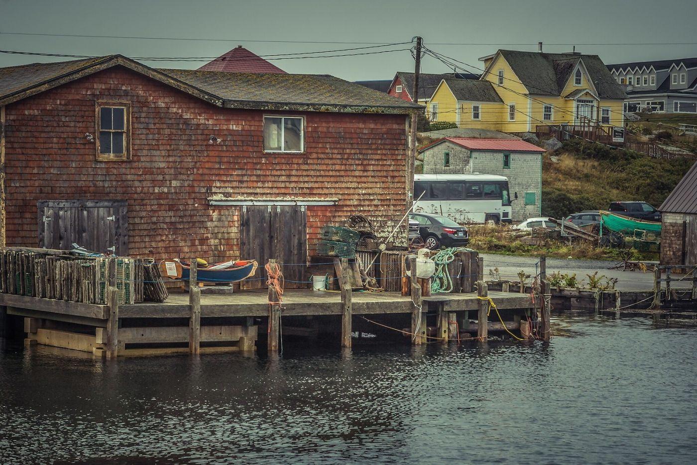 加拿大佩吉海湾(Peggys Cove),小鱼港见闻_图1-18