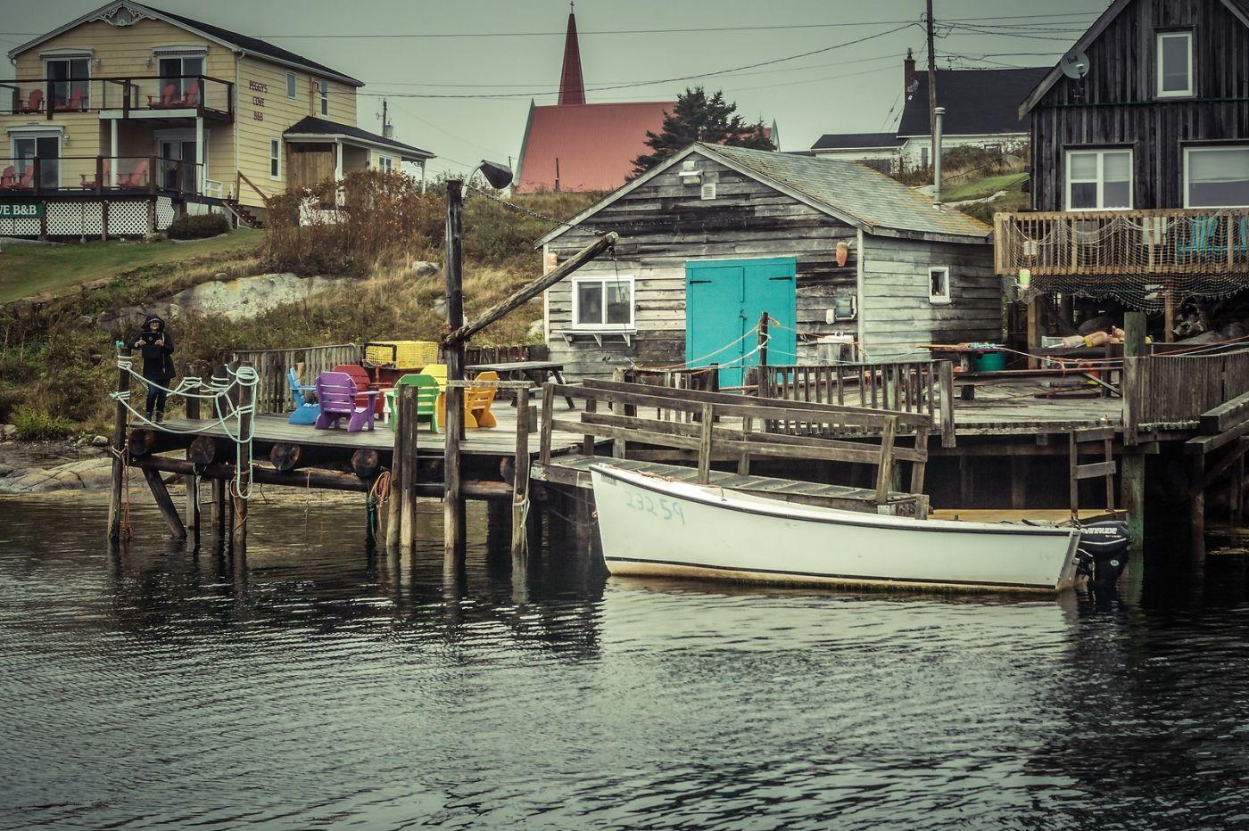 加拿大佩吉海湾(Peggys Cove),小鱼港见闻_图1-19