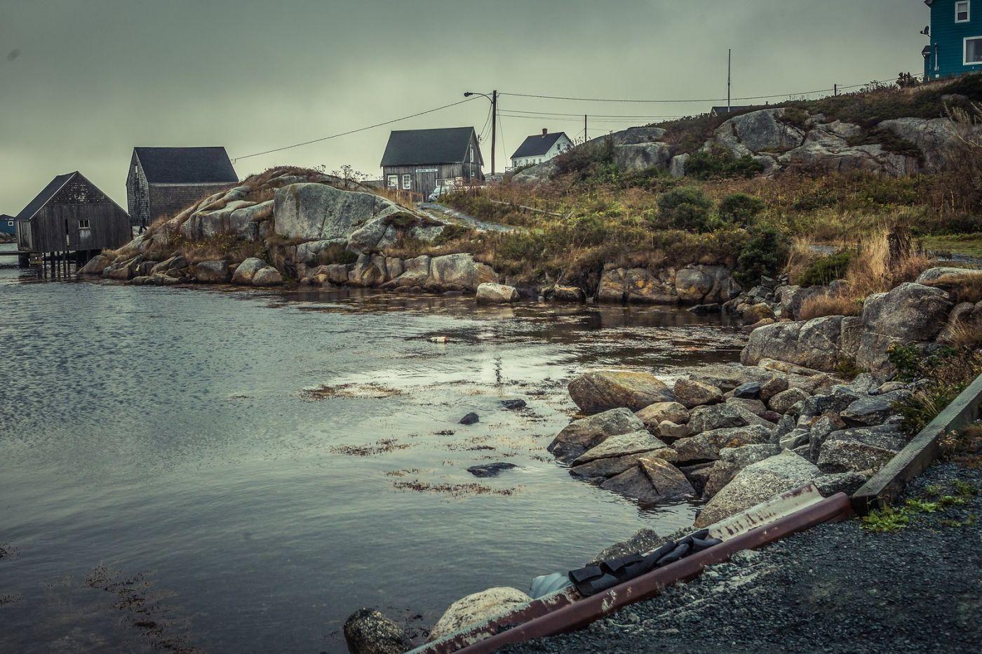 加拿大佩吉海湾(Peggys Cove),小鱼港见闻_图1-28