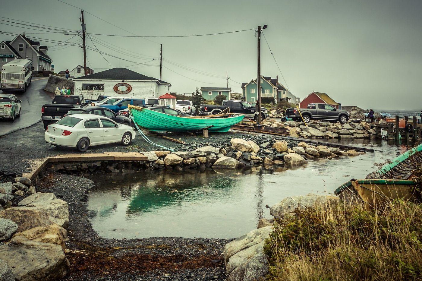 加拿大佩吉海湾(Peggys Cove),小鱼港见闻_图1-29