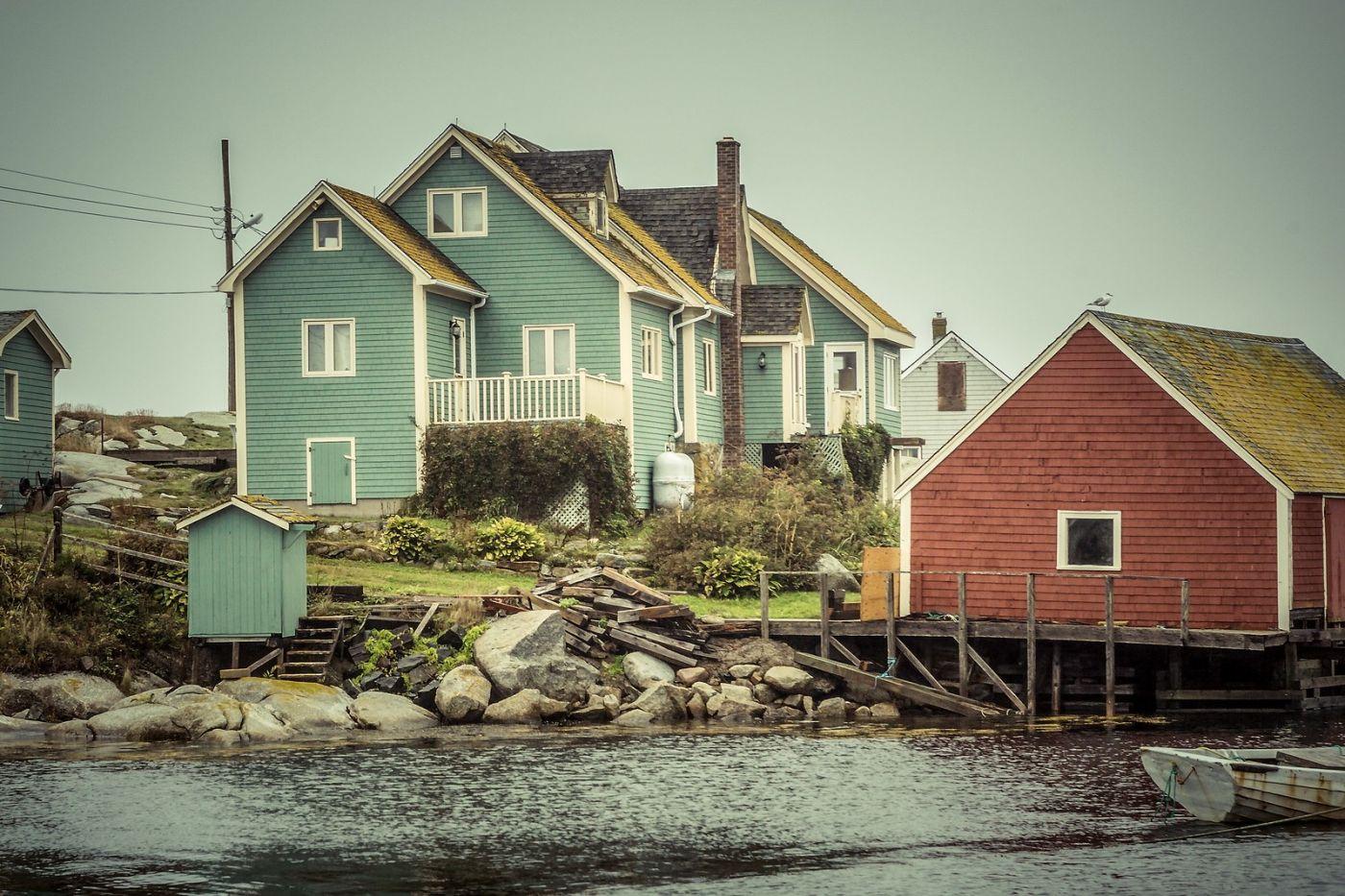 加拿大佩吉海湾(Peggys Cove),小鱼港见闻_图1-30