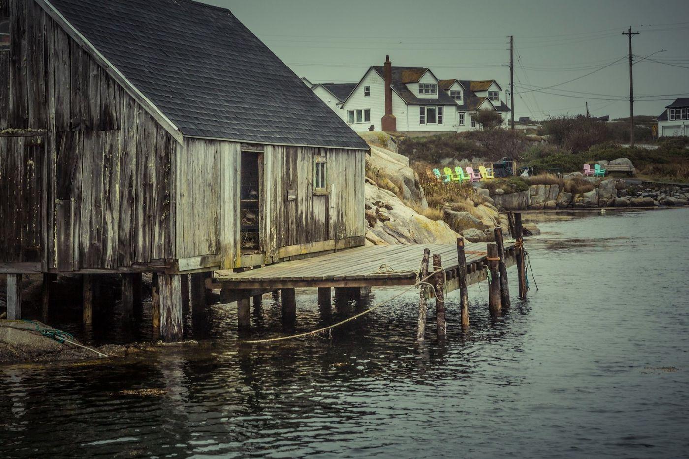 加拿大佩吉海湾(Peggys Cove),小鱼港见闻_图1-31
