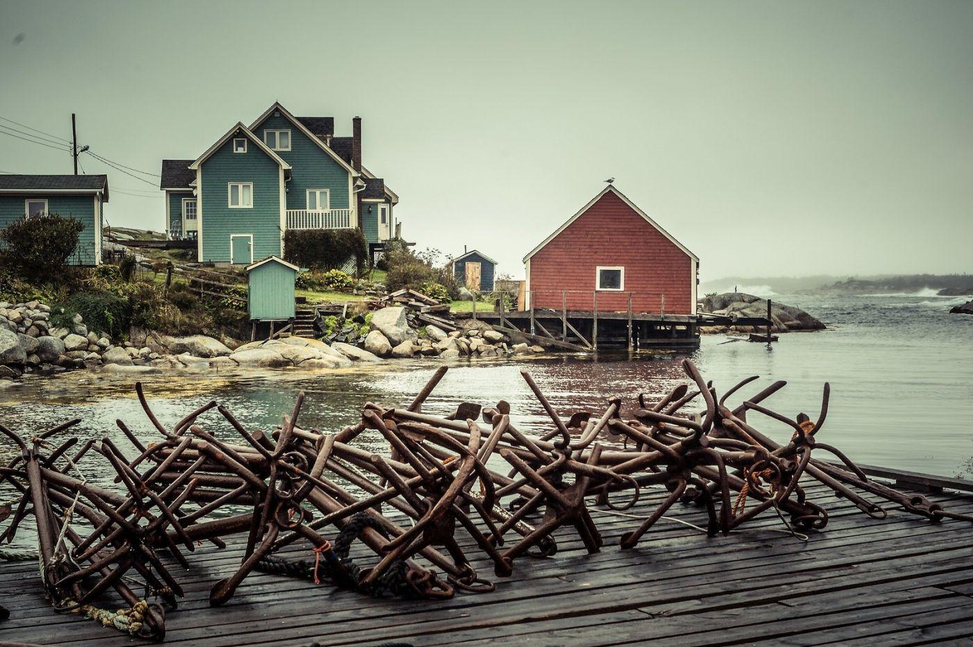 加拿大佩吉海湾(Peggys Cove),小鱼港见闻_图1-32
