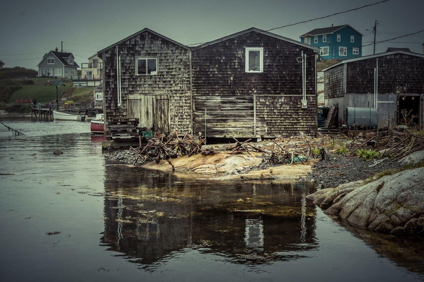 加拿大佩吉海湾(Peggys Cove),小鱼港见闻_图1-35