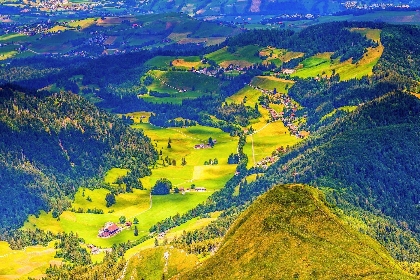 瑞士卢塞恩(Lucerne),登高望远_图1-20