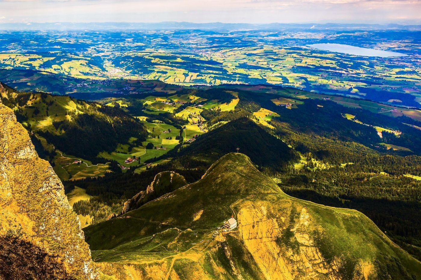 瑞士卢塞恩(Lucerne),登高望远_图1-16