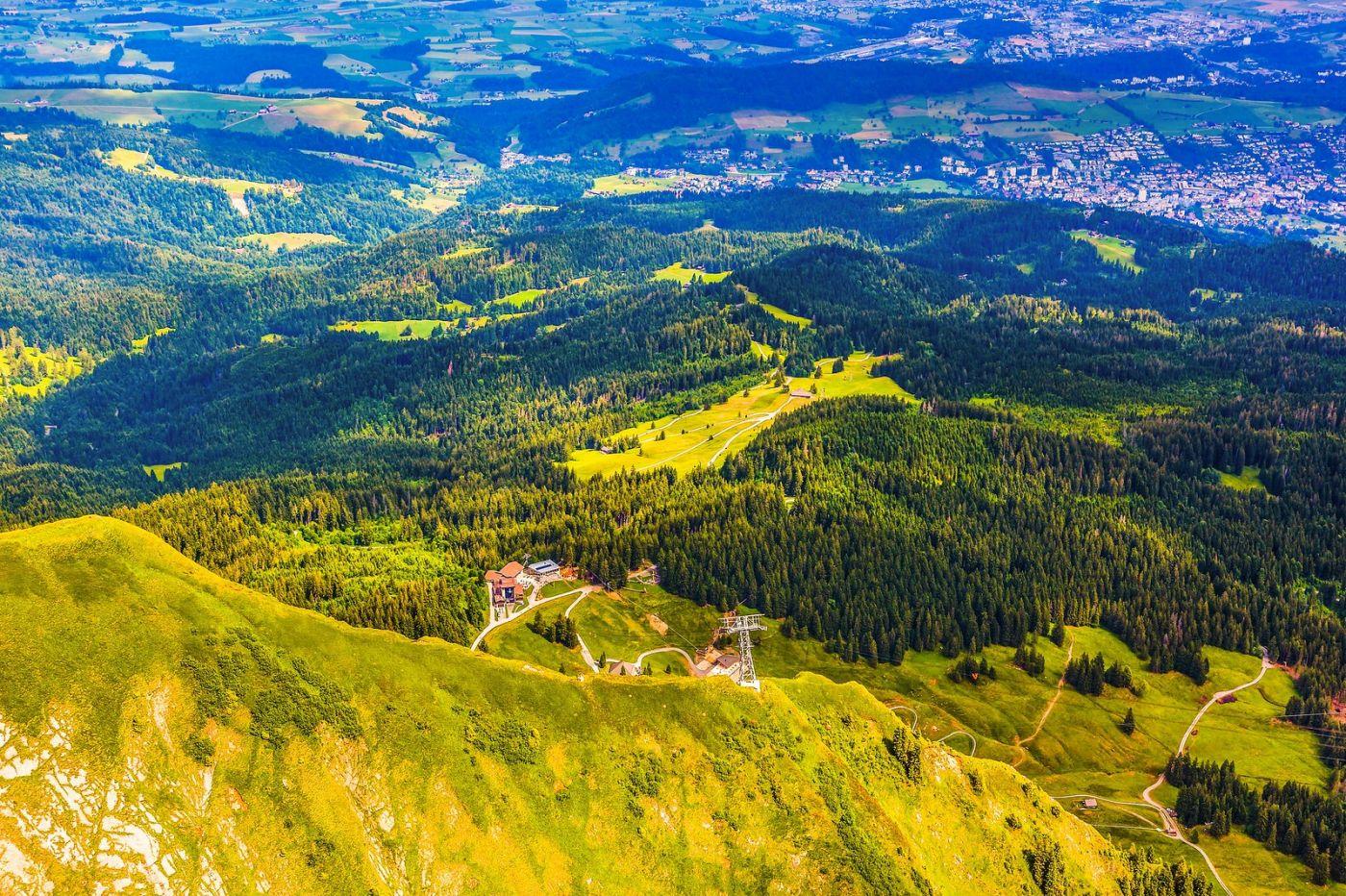 瑞士卢塞恩(Lucerne),登高望远_图1-15