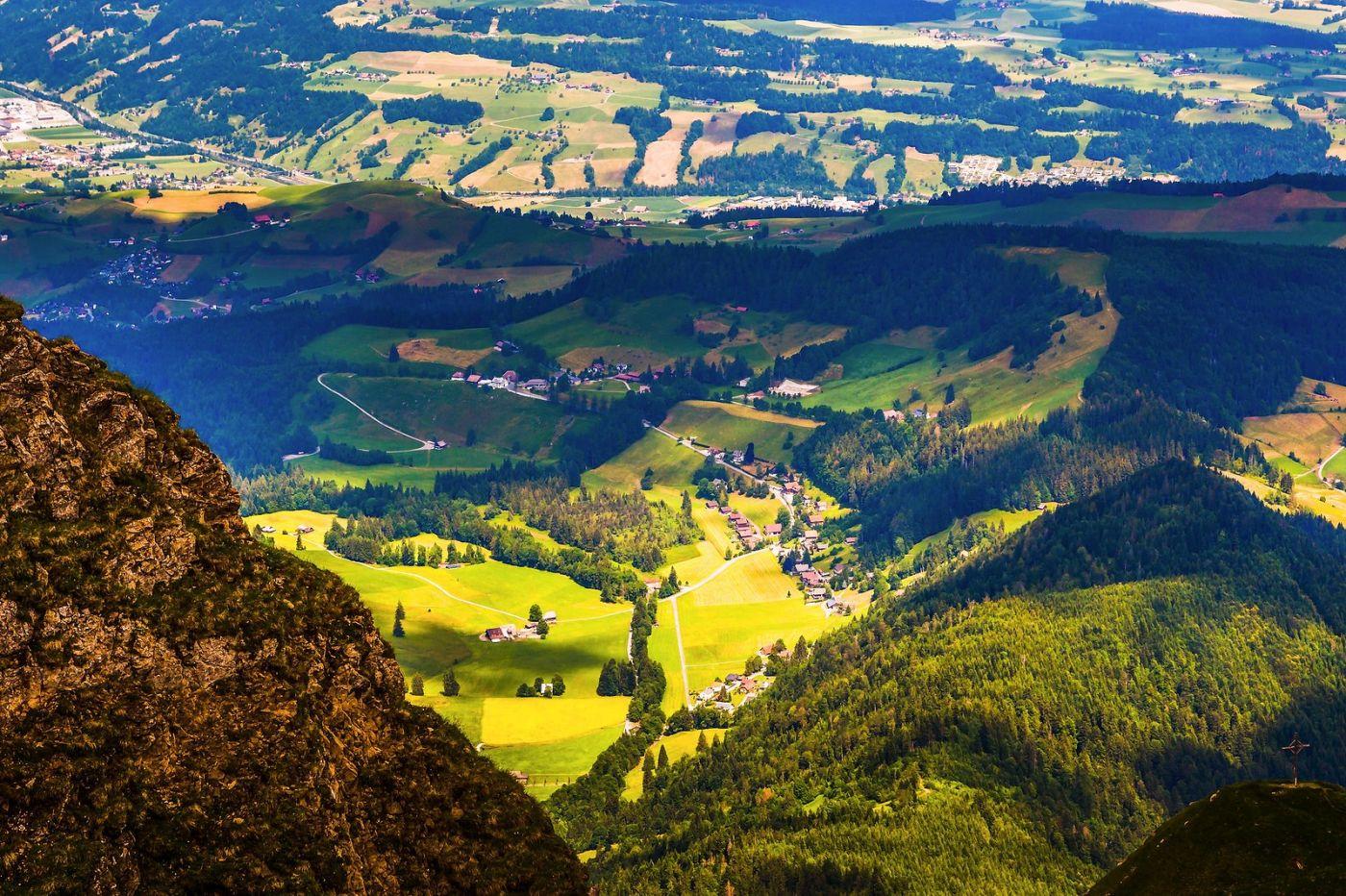 瑞士卢塞恩(Lucerne),登高望远_图1-14