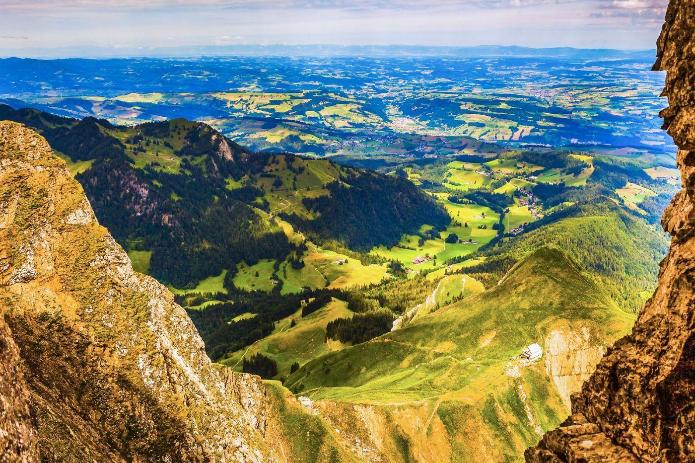 瑞士卢塞恩(Lucerne),登高望远_图1-7