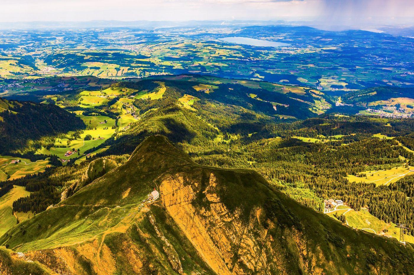 瑞士卢塞恩(Lucerne),登高望远_图1-5
