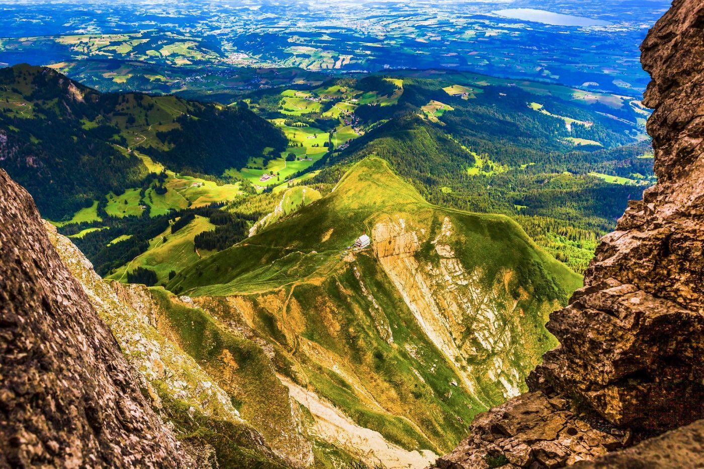 瑞士卢塞恩(Lucerne),登高望远_图1-3