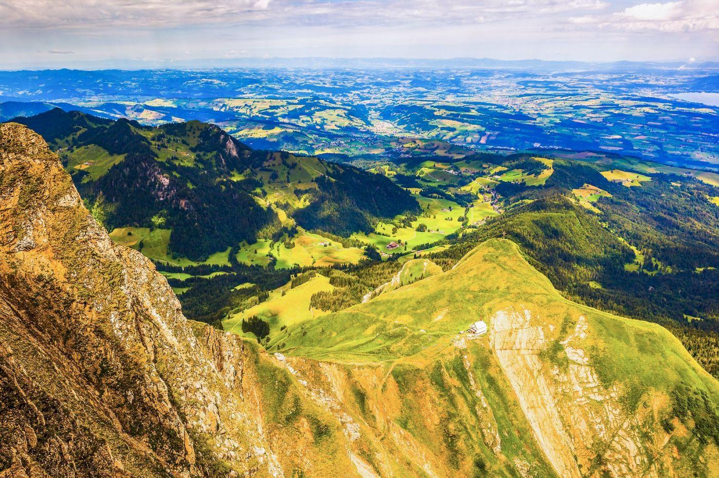 瑞士卢塞恩(Lucerne),登高望远_图1-1