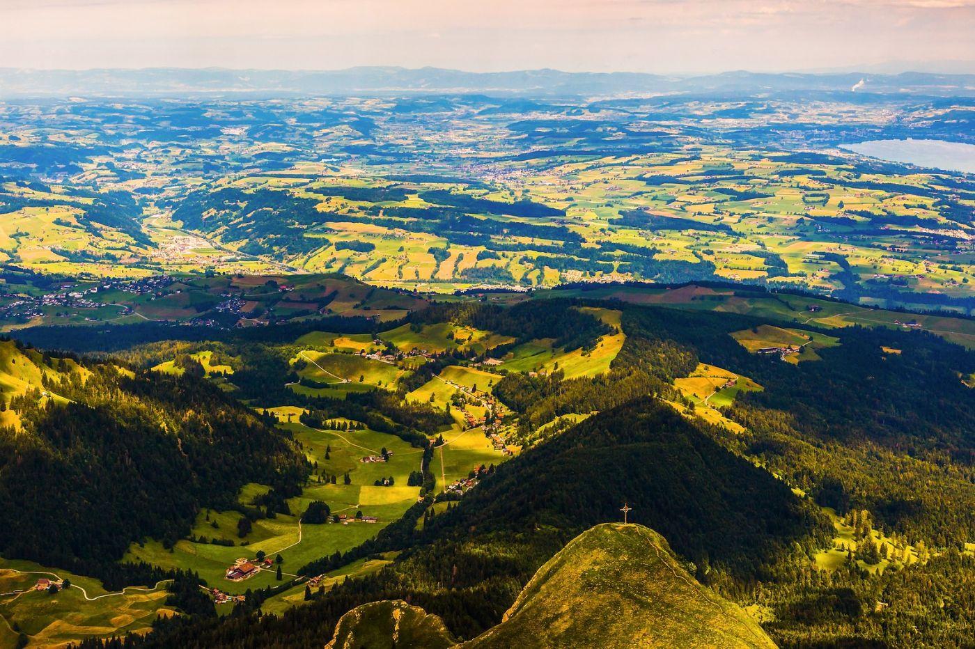 瑞士卢塞恩(Lucerne),登高望远_图1-2