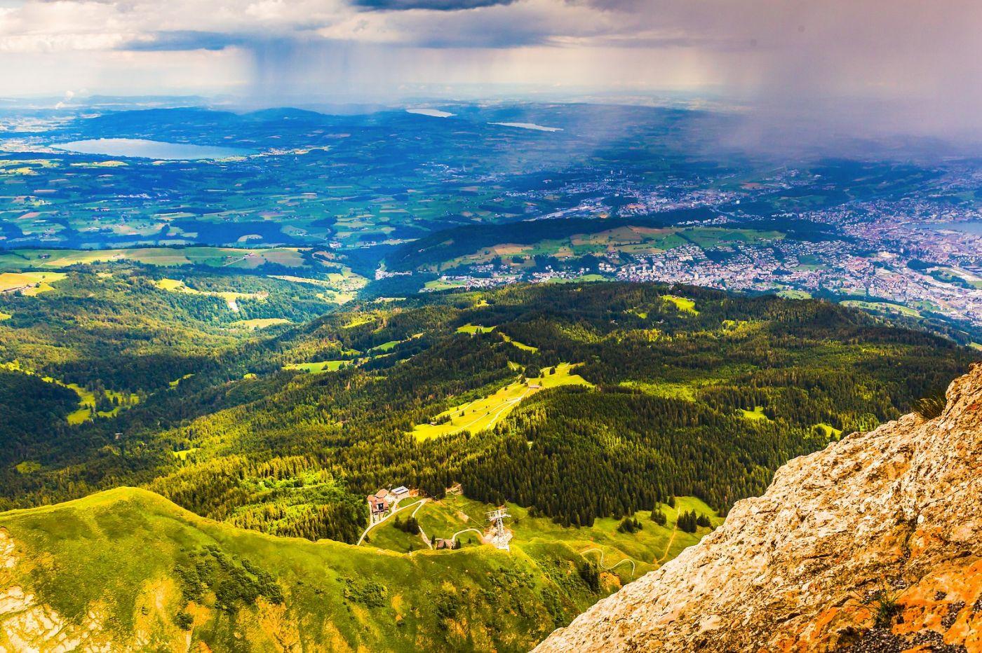 瑞士卢塞恩(Lucerne),登高望远_图1-10