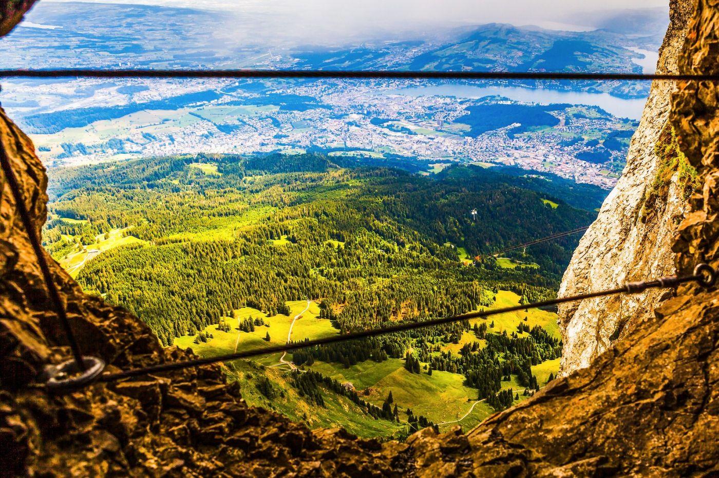 瑞士卢塞恩(Lucerne),登高望远_图1-12