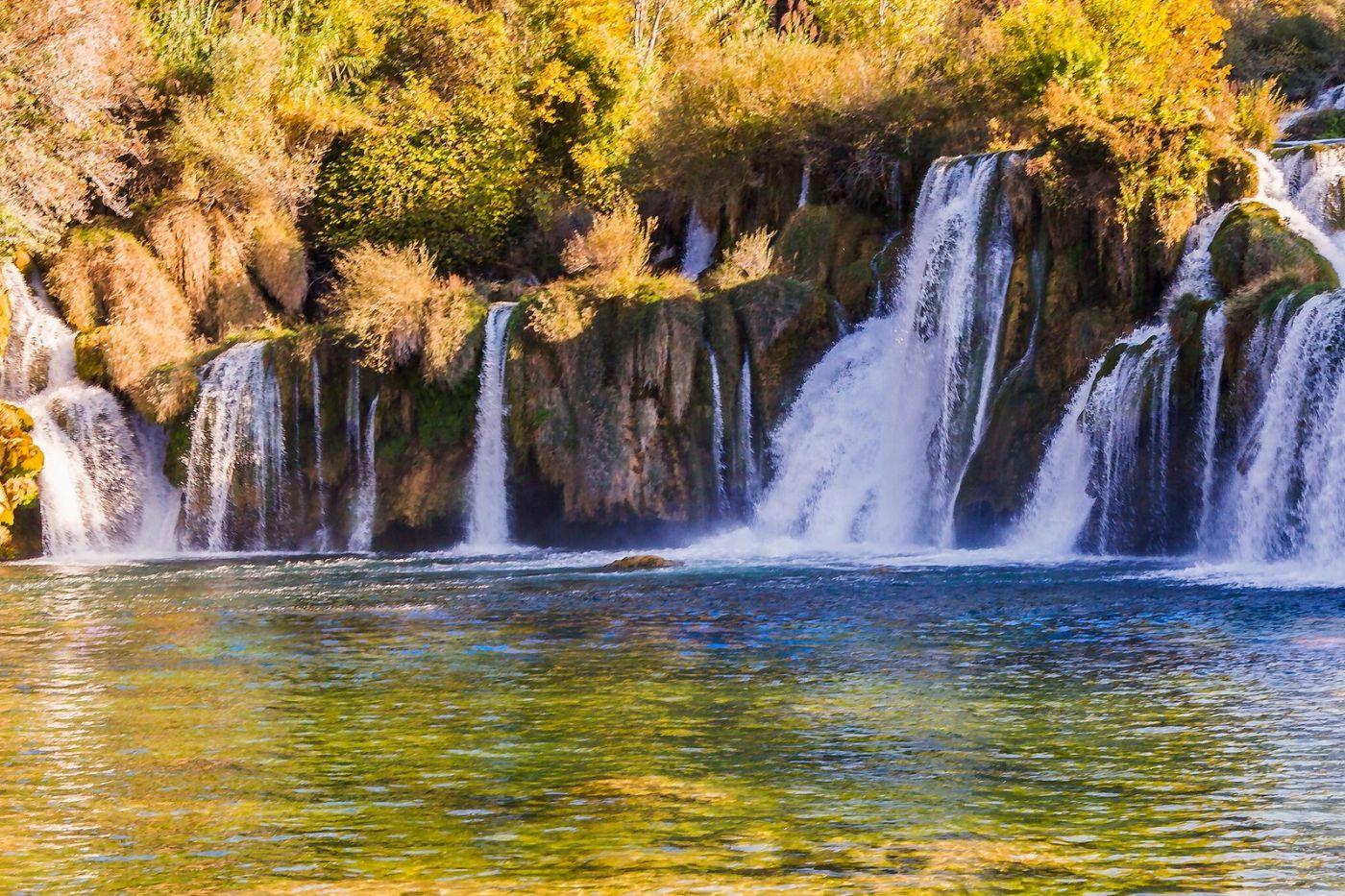 克罗地亚克尔卡国家公园(Krka National Park),瀑布瀑布瀑布_图1-5