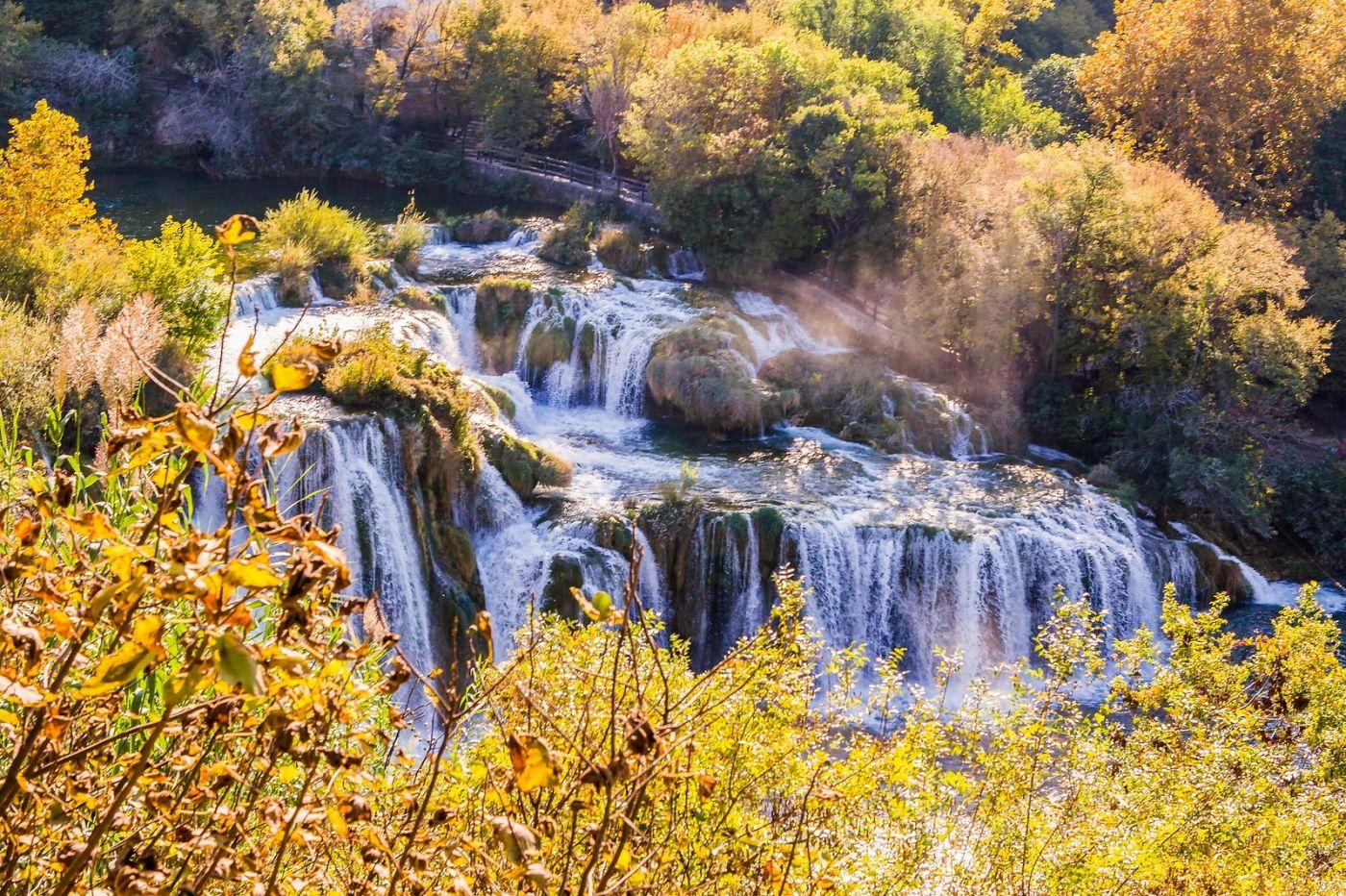 克罗地亚克尔卡国家公园(Krka National Park),瀑布瀑布瀑布_图1-4