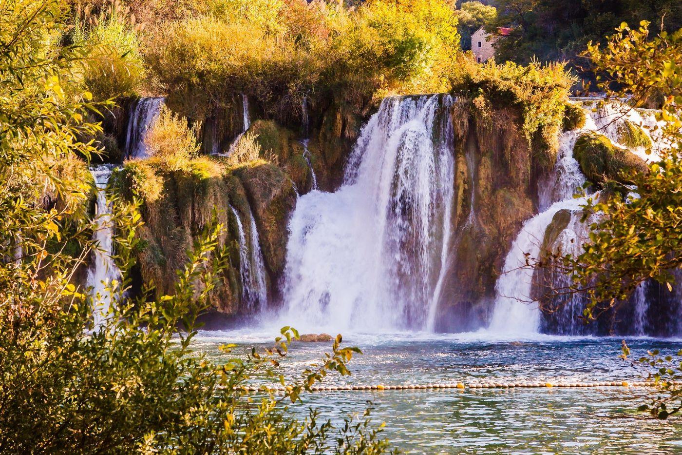 克罗地亚克尔卡国家公园(Krka National Park),瀑布瀑布瀑布_图1-6