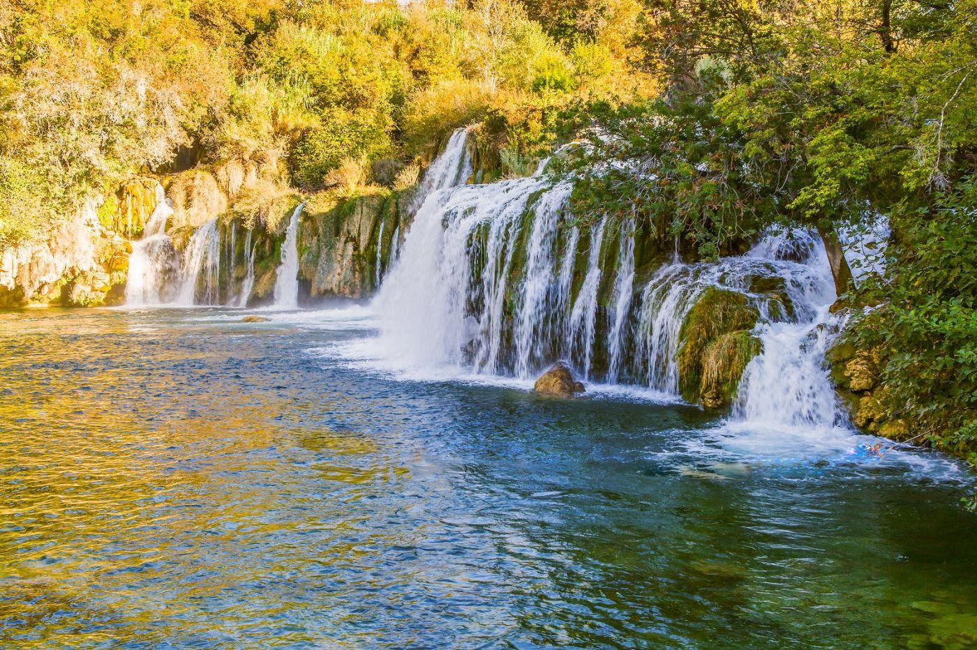 克罗地亚克尔卡国家公园(Krka National Park),瀑布瀑布瀑布_图1-2