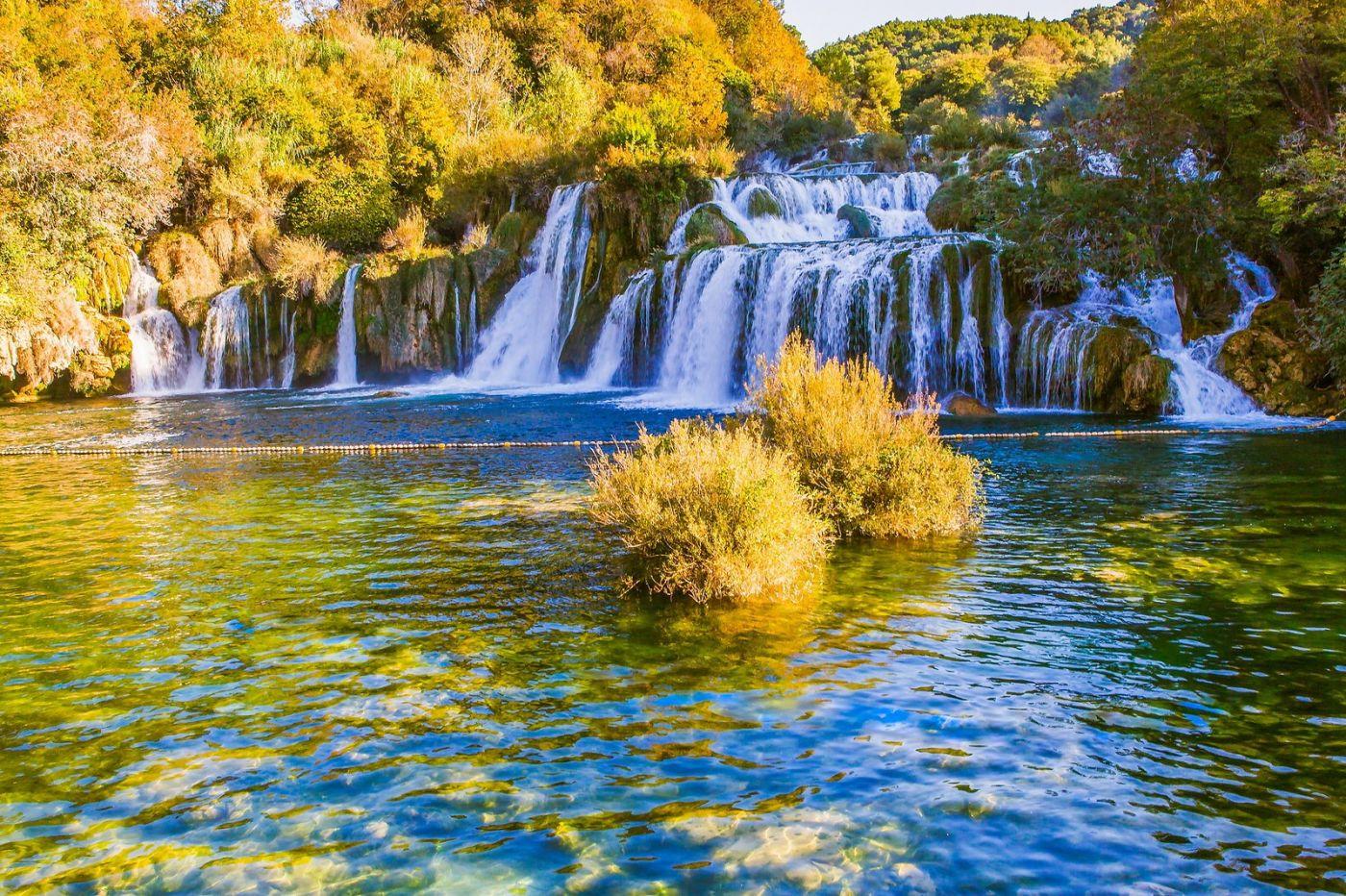 克罗地亚克尔卡国家公园(Krka National Park),瀑布瀑布瀑布_图1-3