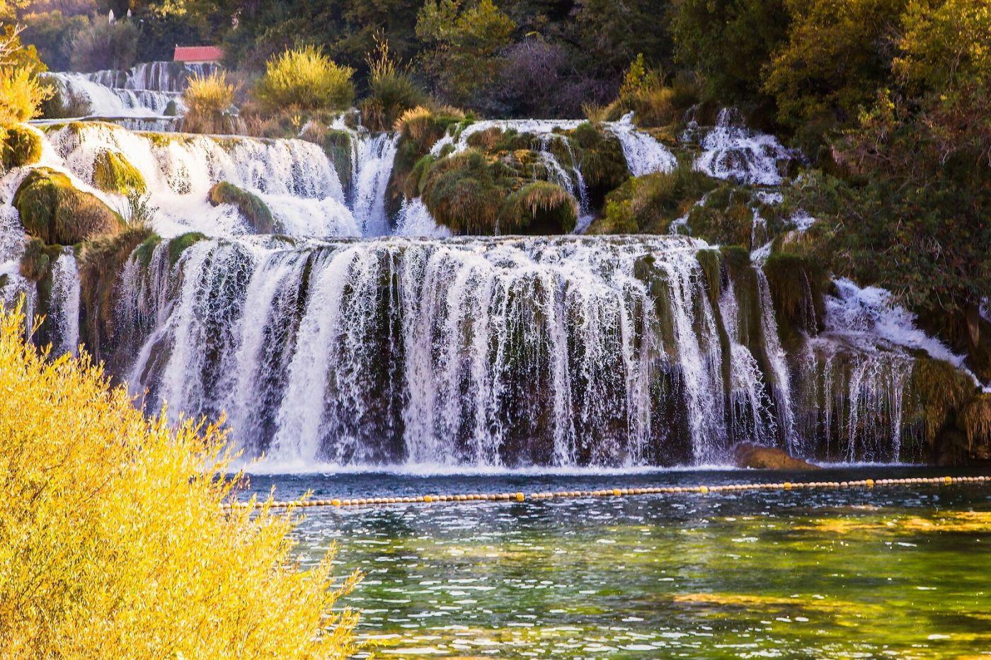 克罗地亚克尔卡国家公园(Krka National Park),瀑布瀑布瀑布_图1-7