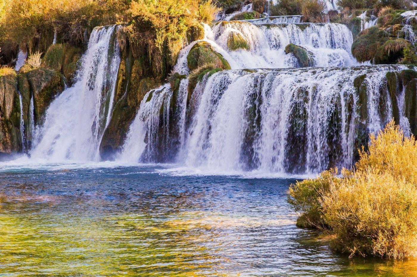 克罗地亚克尔卡国家公园(Krka National Park),瀑布瀑布瀑布_图1-1
