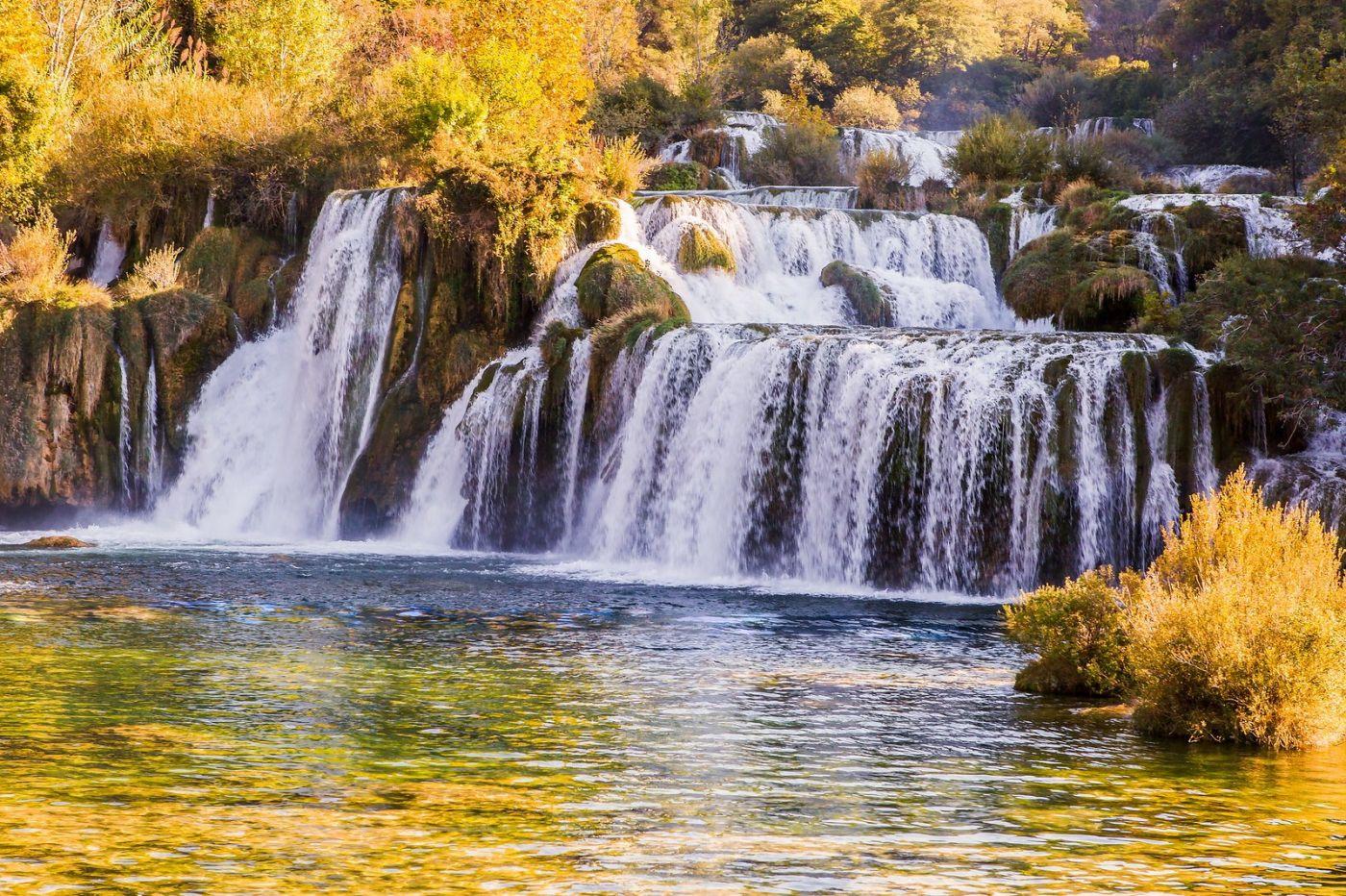 克罗地亚克尔卡国家公园(Krka National Park),瀑布瀑布瀑布_图1-8