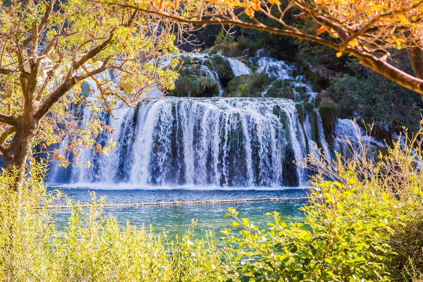 克罗地亚克尔卡国家公园(Krka National Park),瀑布瀑布瀑布_图1-9