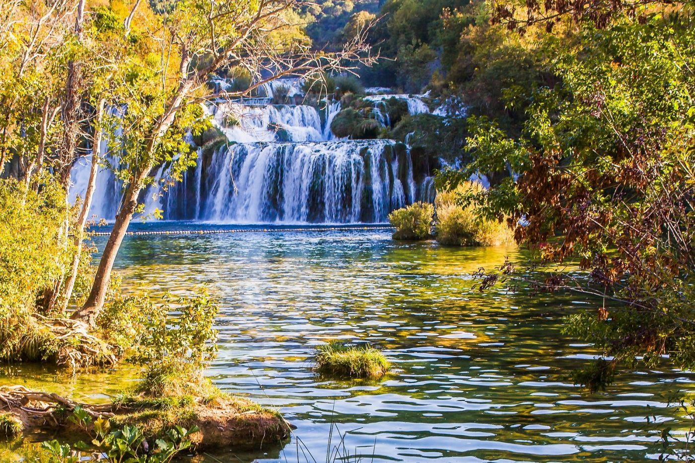 克罗地亚克尔卡国家公园(Krka National Park),瀑布瀑布瀑布_图1-12