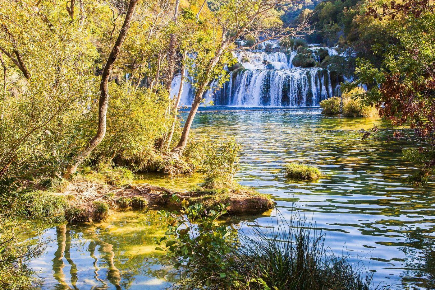 克罗地亚克尔卡国家公园(Krka National Park),瀑布瀑布瀑布_图1-11