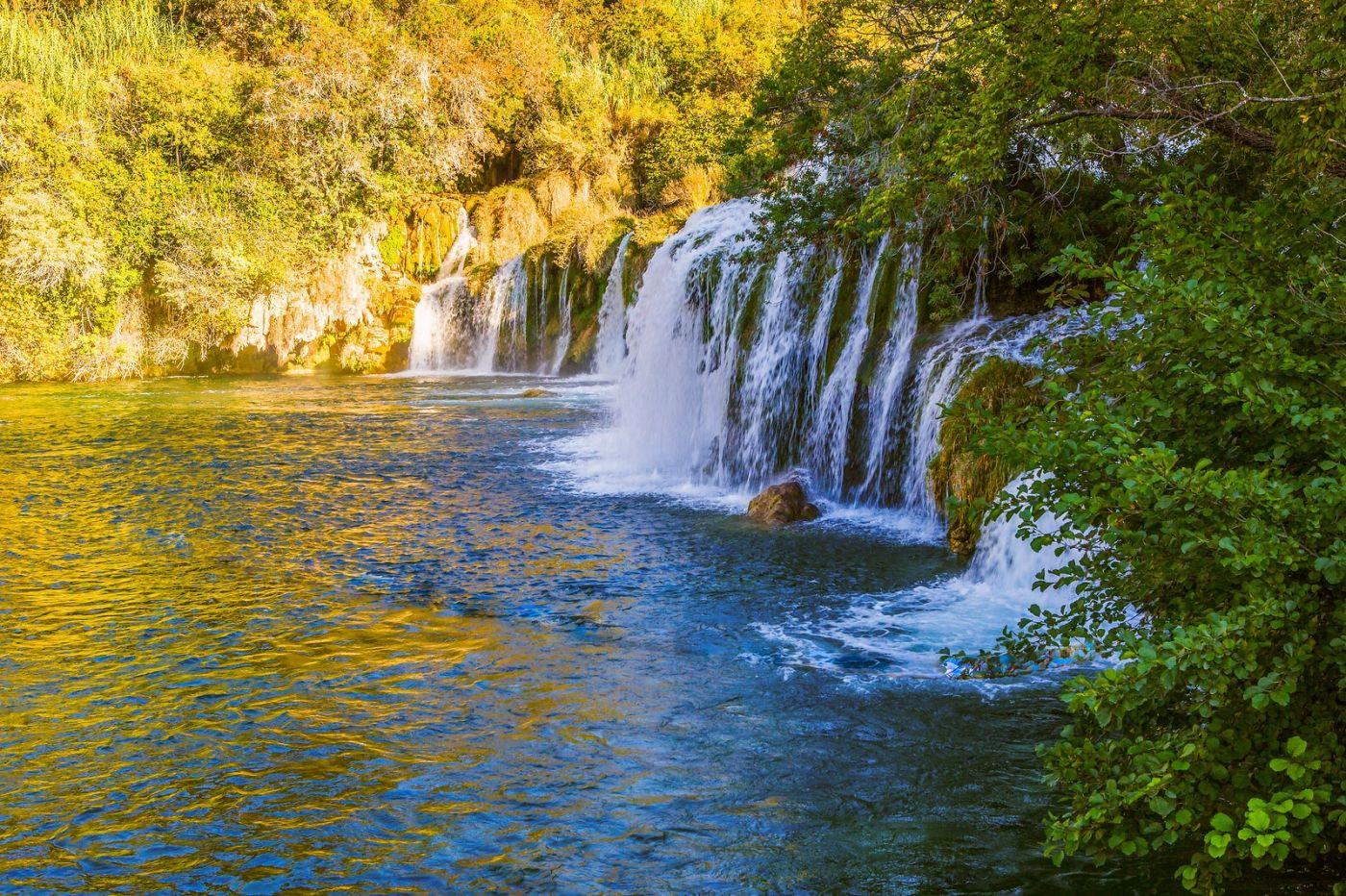 克罗地亚克尔卡国家公园(Krka National Park),瀑布瀑布瀑布_图1-10