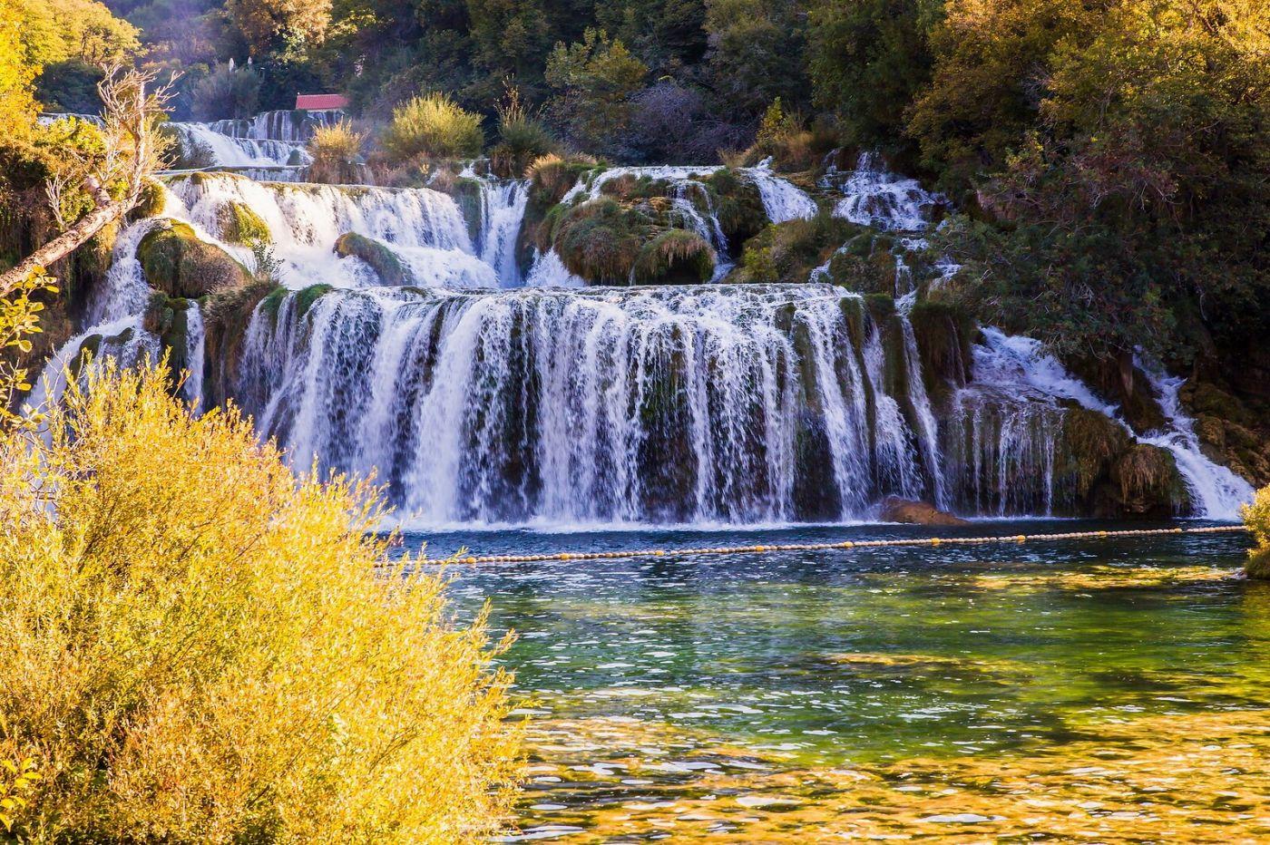 克罗地亚克尔卡国家公园(Krka National Park),瀑布瀑布瀑布_图1-13
