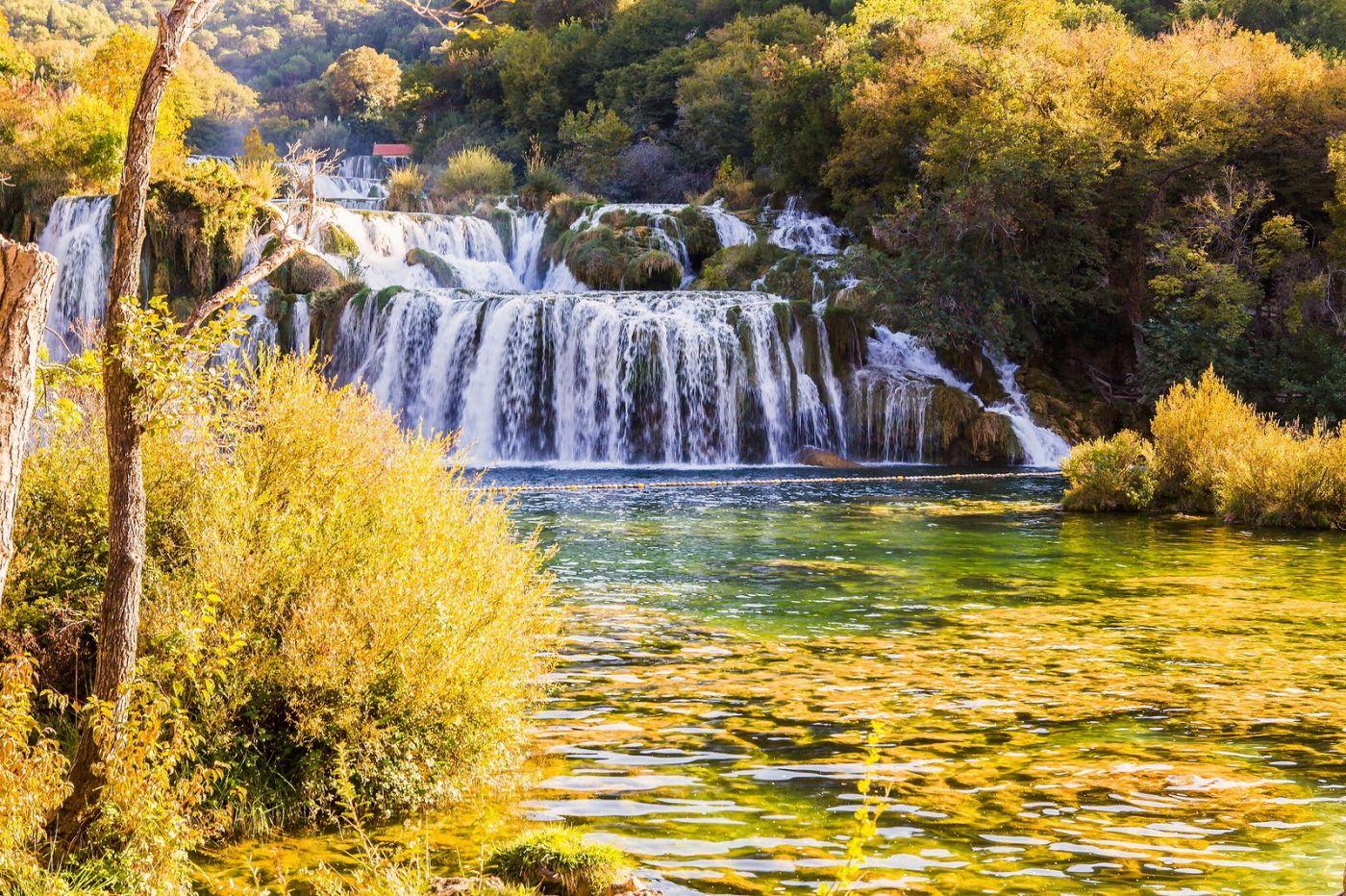 克罗地亚克尔卡国家公园(Krka National Park),瀑布瀑布瀑布_图1-16
