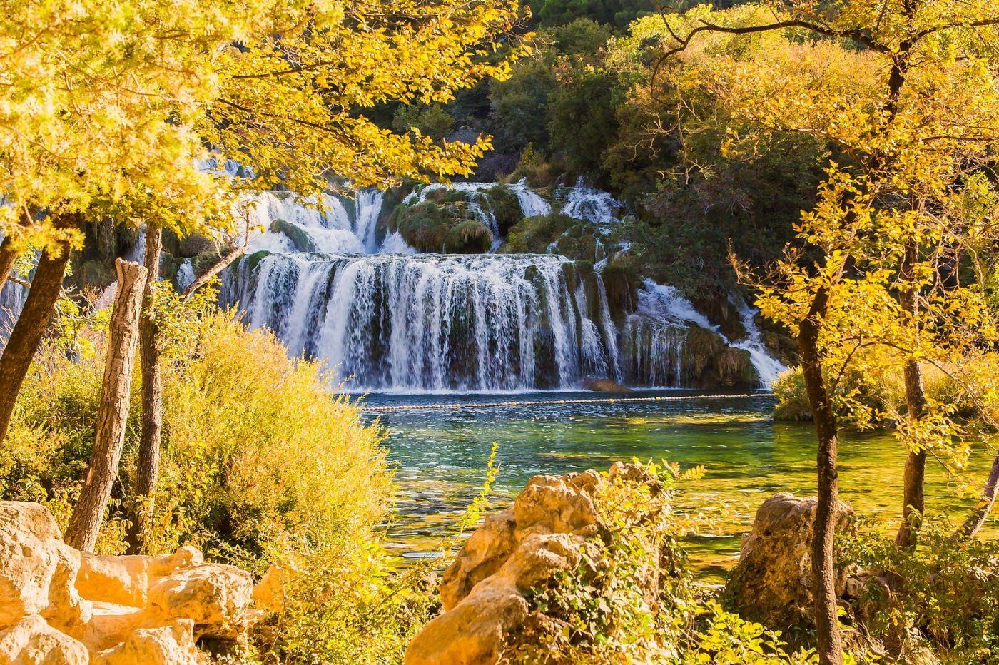 克罗地亚克尔卡国家公园(Krka National Park),瀑布瀑布瀑布_图1-18