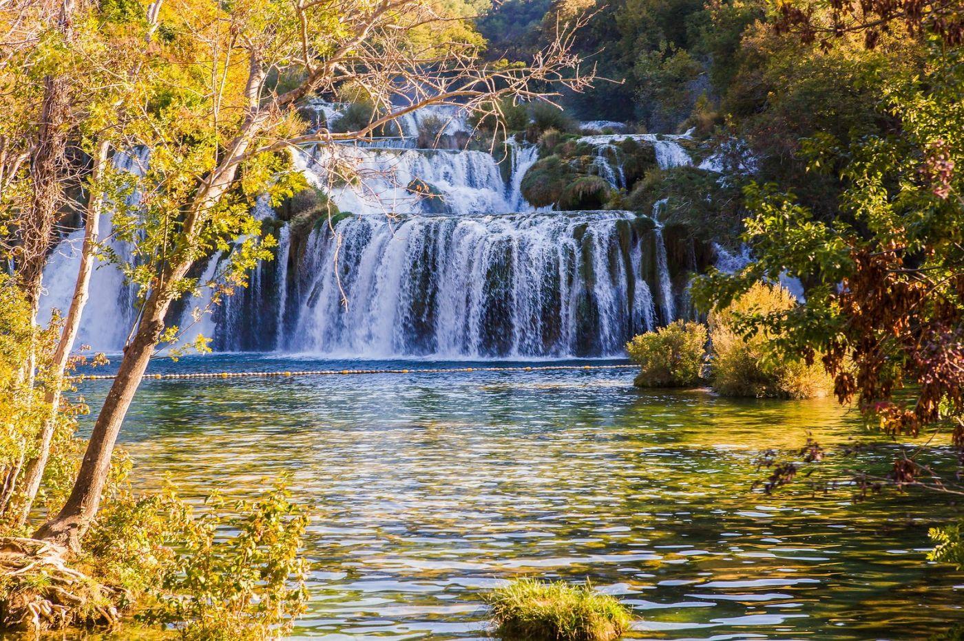 克罗地亚克尔卡国家公园(Krka National Park),瀑布瀑布瀑布_图1-14