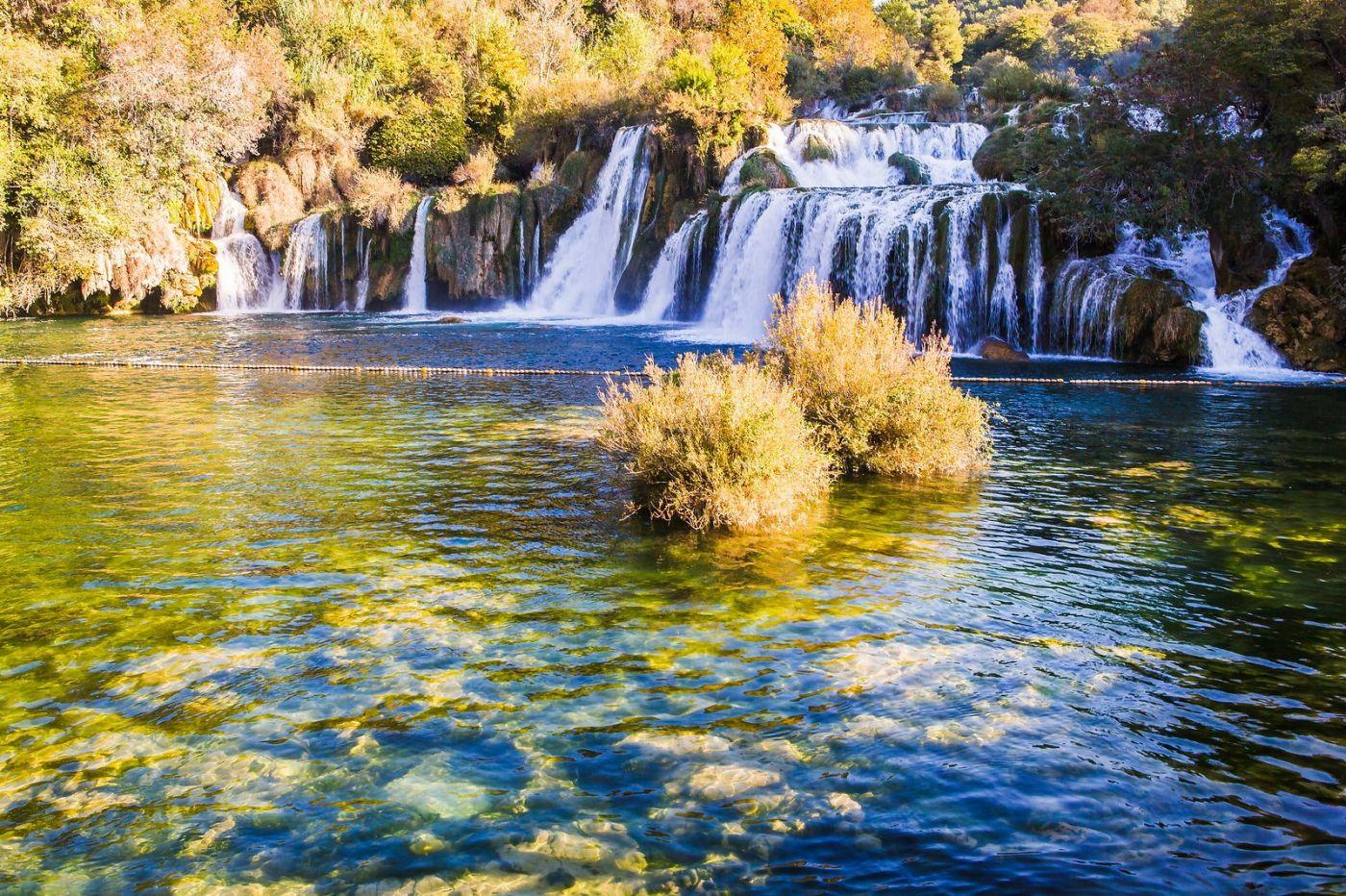 克罗地亚克尔卡国家公园(Krka National Park),瀑布瀑布瀑布_图1-17
