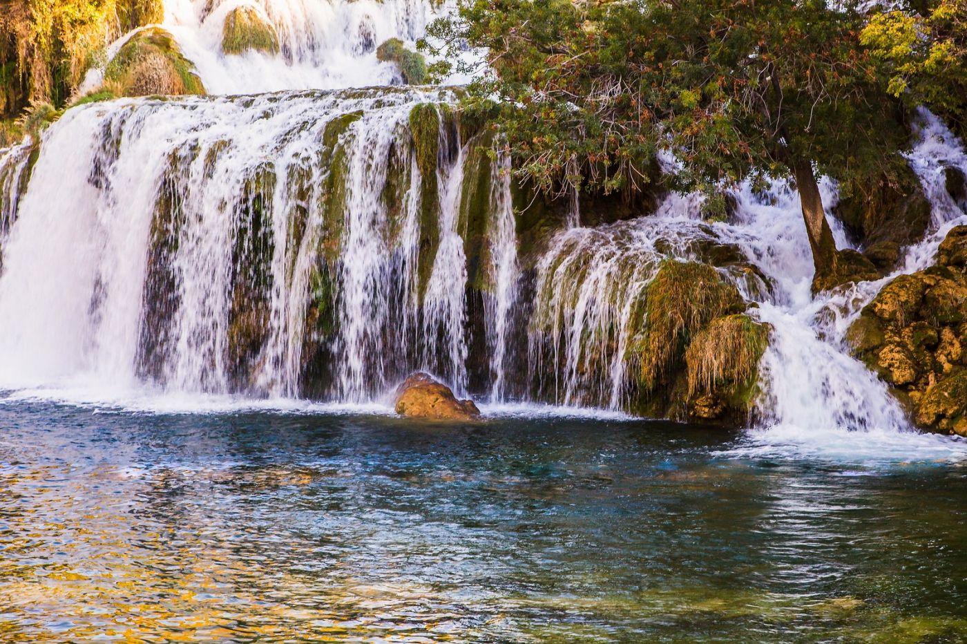 克罗地亚克尔卡国家公园(Krka National Park),瀑布瀑布瀑布_图1-15