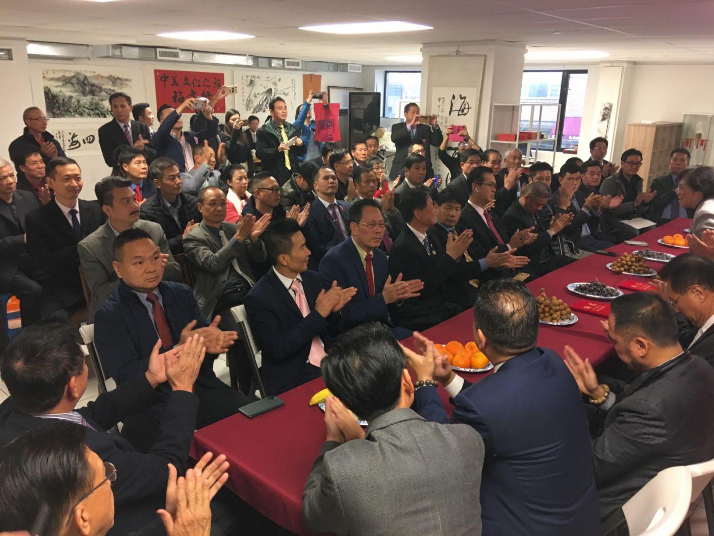 美国福建华人联合会欢迎福州市侨联主席蓝桂兰访美代表团一行 ... ..._图1-5