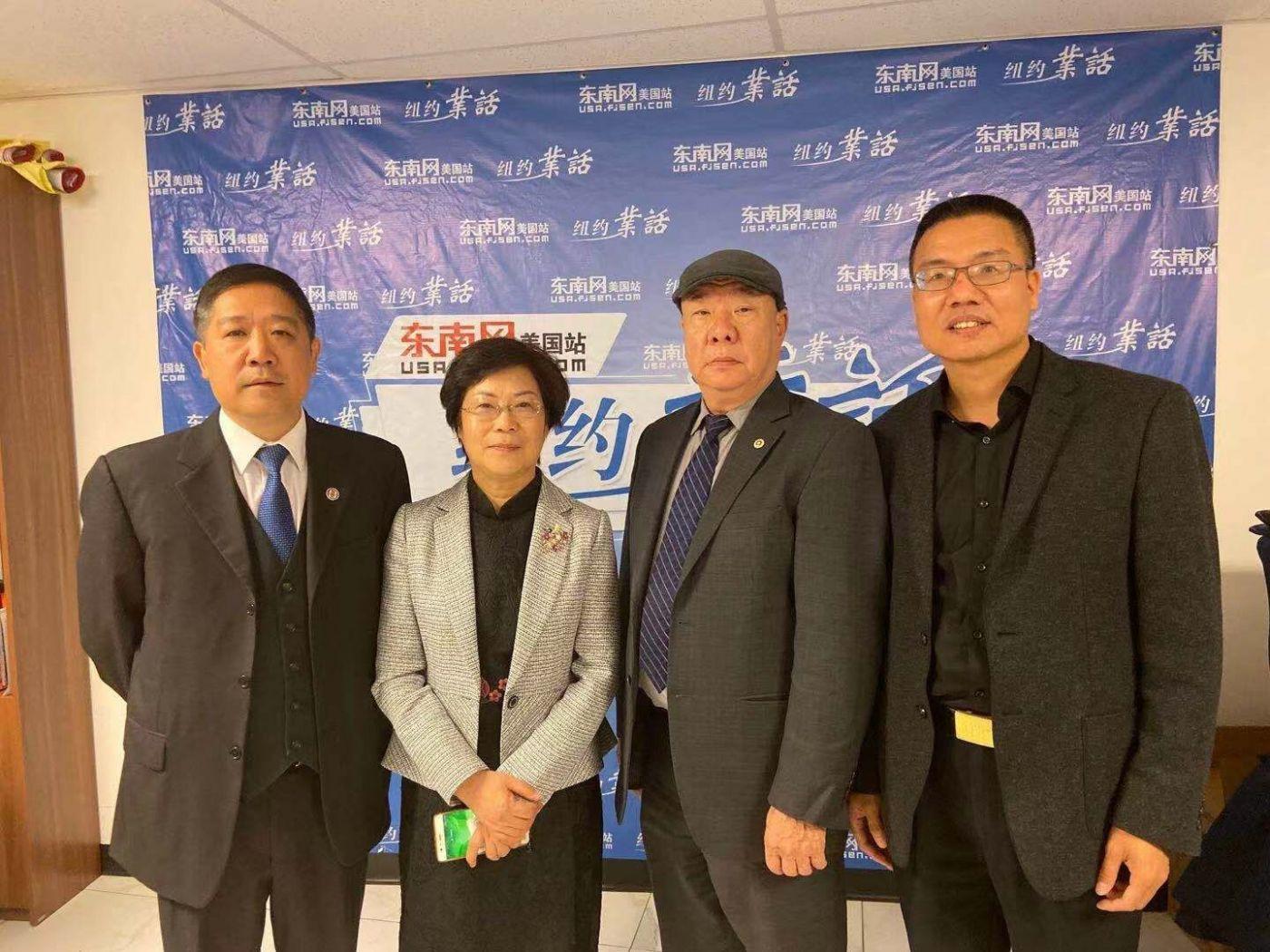 美国福建华人联合会欢迎福州市侨联主席蓝桂兰访美代表团一行 ... ..._图1-23