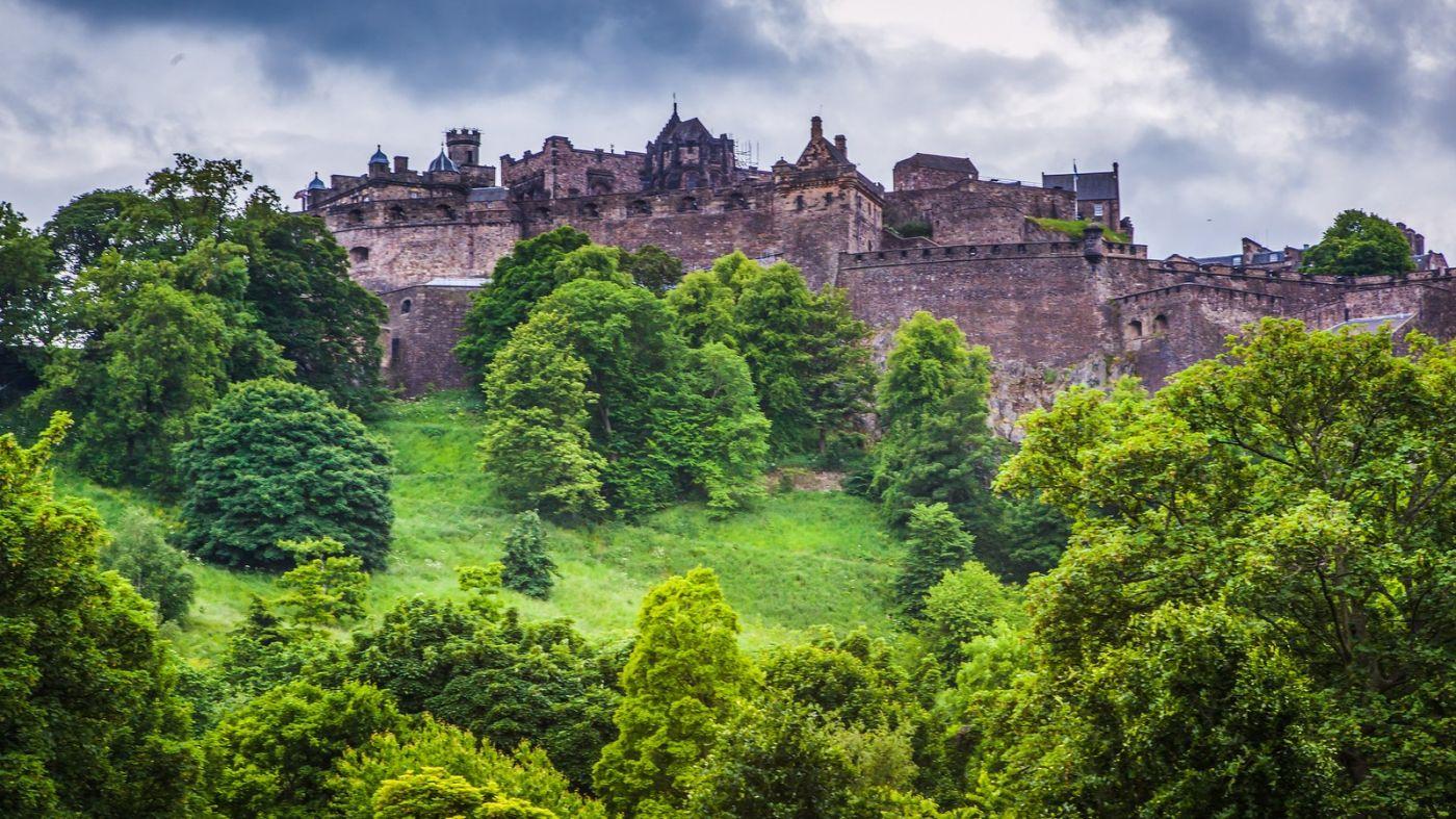 苏格兰爱丁堡城堡(Edinburgh Castle),城市的象征_图1-40