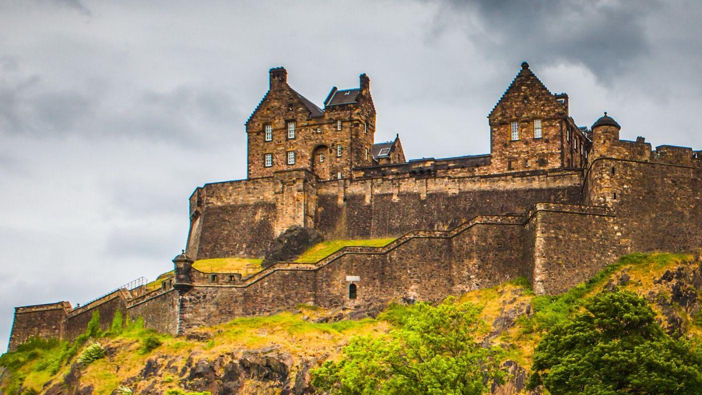 苏格兰爱丁堡城堡(Edinburgh Castle),城市的象征_图1-39