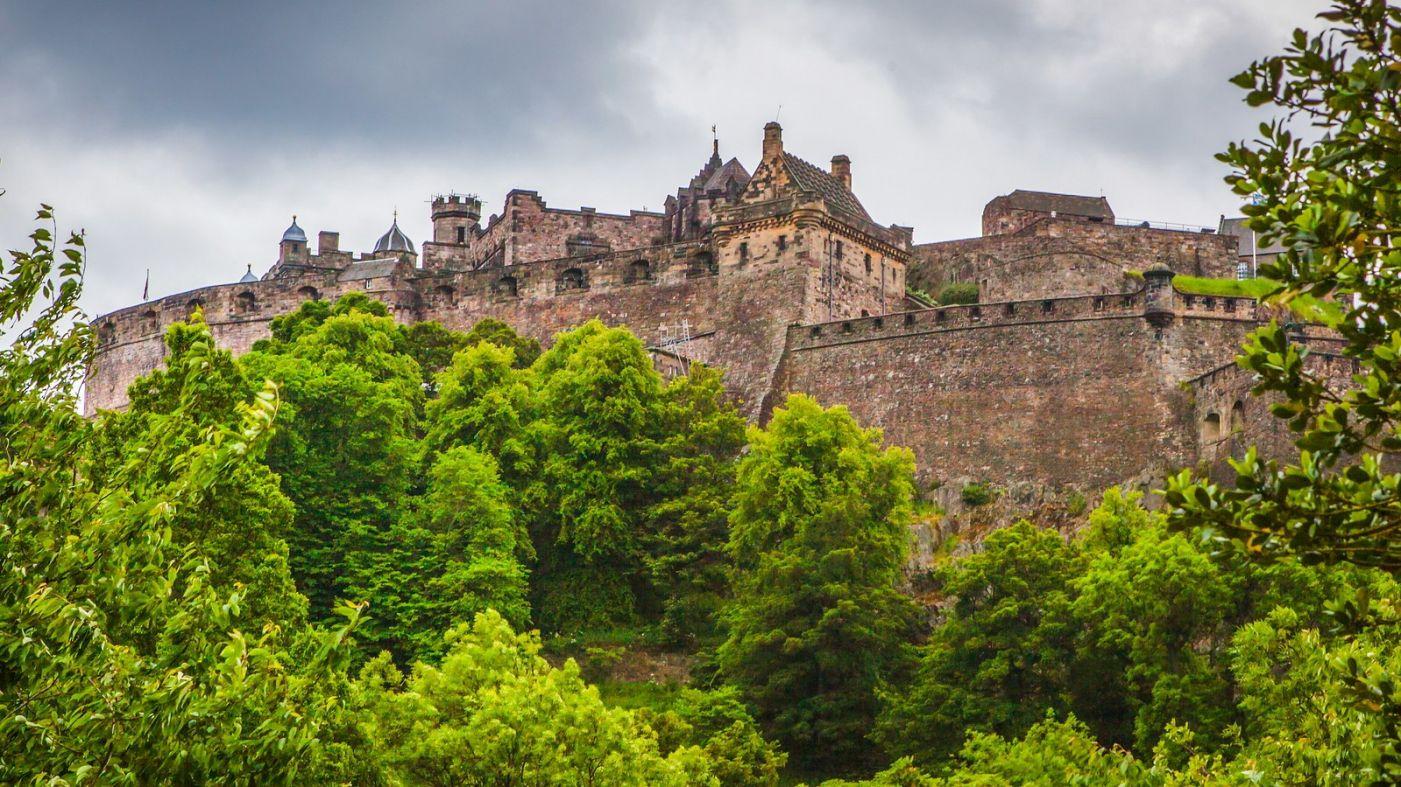 苏格兰爱丁堡城堡(Edinburgh Castle),城市的象征_图1-38