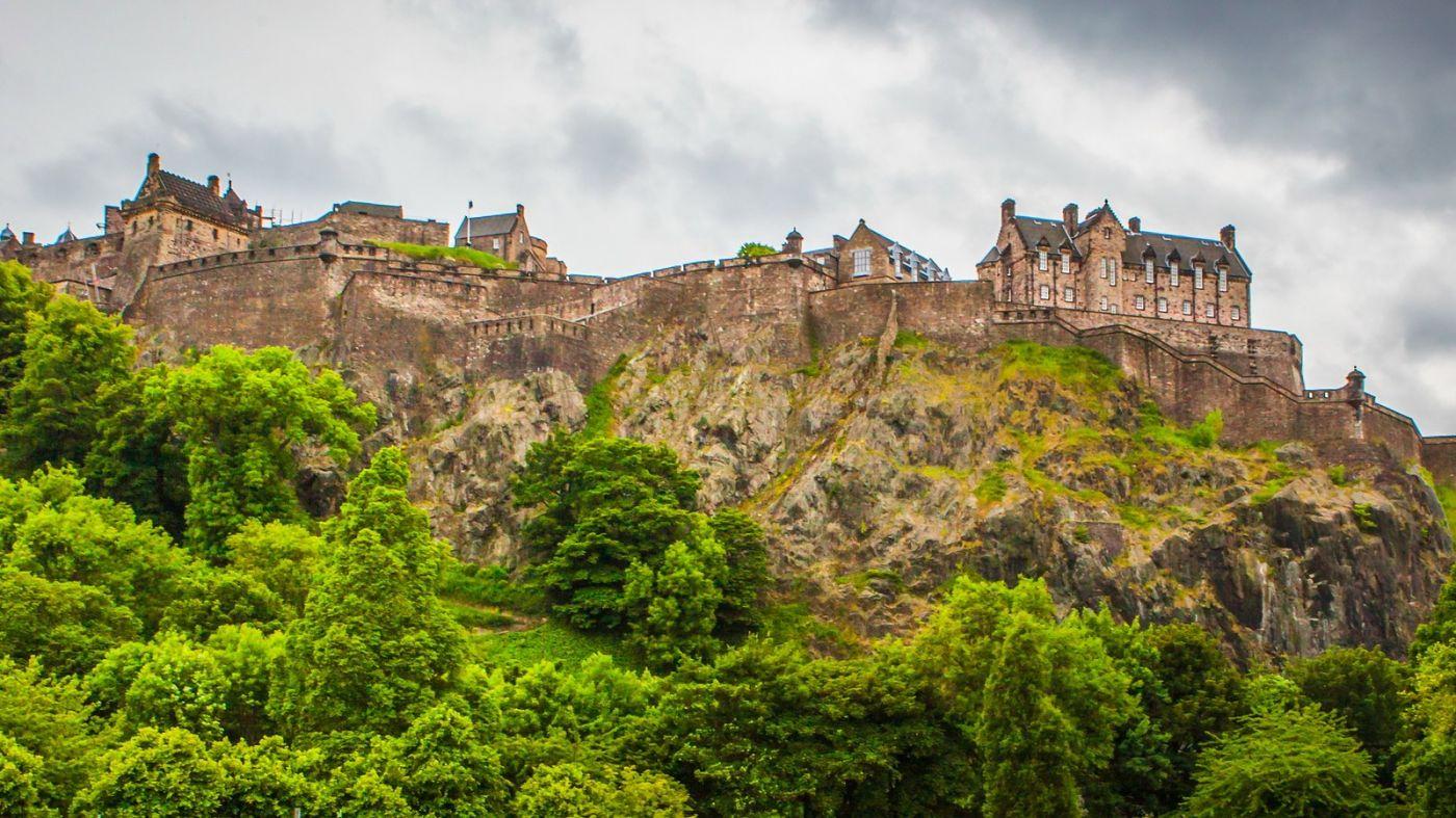 苏格兰爱丁堡城堡(Edinburgh Castle),城市的象征_图1-37