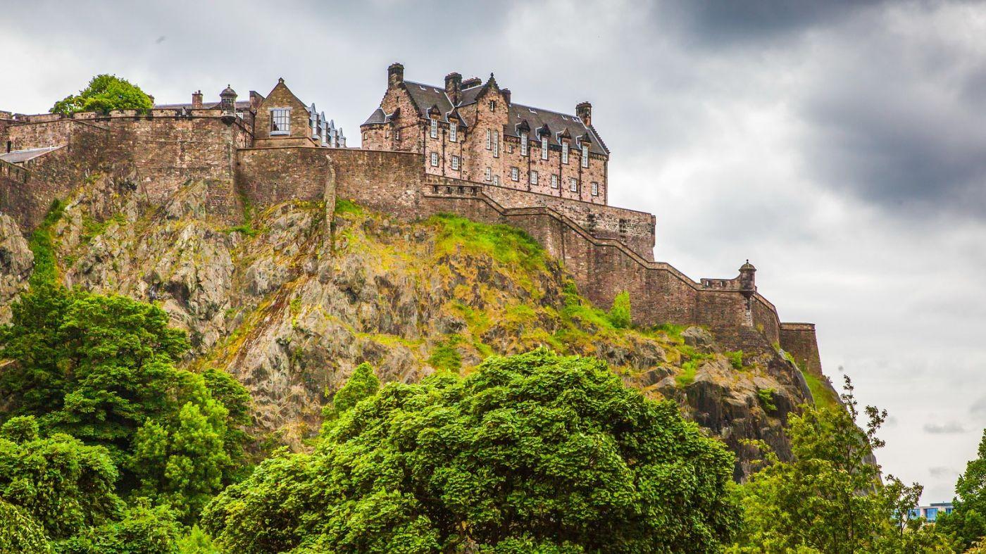 苏格兰爱丁堡城堡(Edinburgh Castle),城市的象征_图1-33