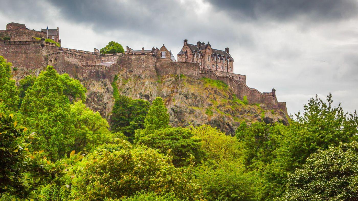 苏格兰爱丁堡城堡(Edinburgh Castle),城市的象征_图1-31