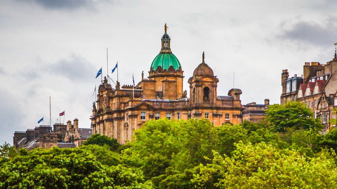 苏格兰爱丁堡城堡(Edinburgh Castle),城市的象征_图1-32