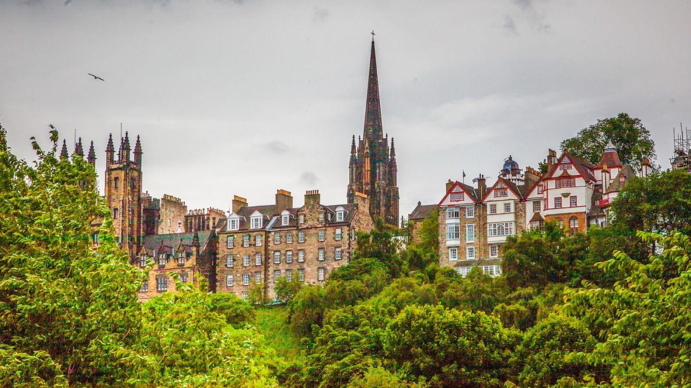 苏格兰爱丁堡城堡(Edinburgh Castle),城市的象征_图1-29
