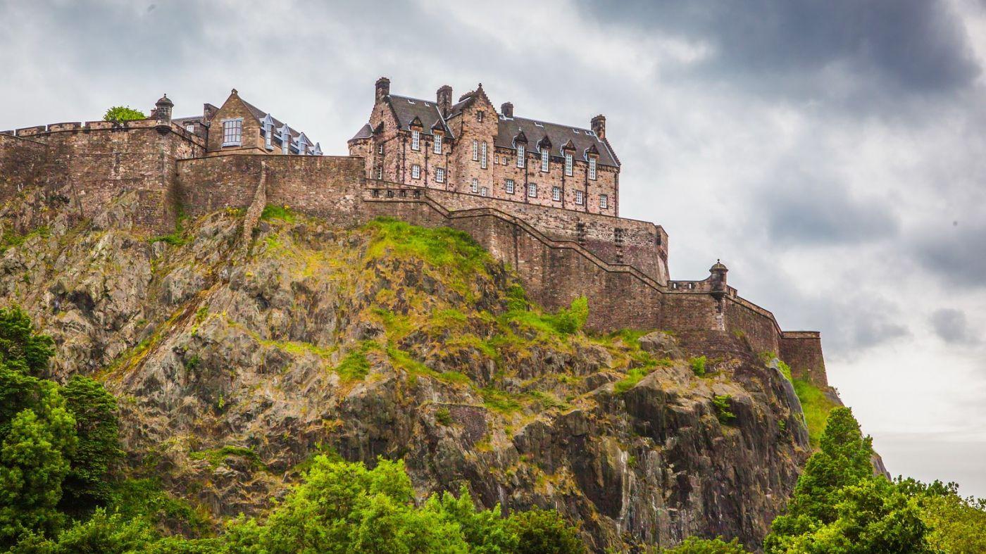 苏格兰爱丁堡城堡(Edinburgh Castle),城市的象征_图1-25